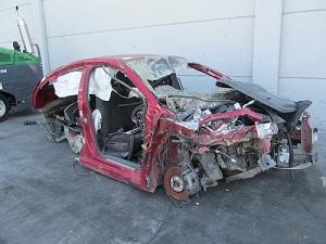 Destructoterapia: coche para desguace